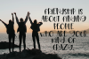 Hanging Out - A Playful Hand-Lettered Font example image 4