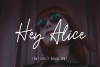 Hey Alice Font Duo example image 1