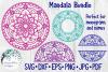 Huge Mandala Bundle | 36 SVG Cut Files example image 8