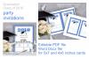 Invitation Template editable text - BLUE - Graduation 2019 example image 4