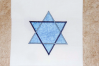 Intertwined Star of David Applique Embroidery Design example image 2