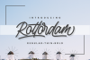 Rottordam - Regular, Thin, and Bold example image 1
