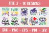 Mardi Gras SVG | SVG Bundle | Cut Files | T shirt Designs example image 4