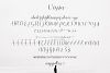 Vessia a lovely script font example image 9
