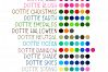 Dottie Color OTF SVG Font Family in 20 Color Variations example image 2