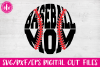 Baseball Mom - SVG, DXF, EPS Cut Files example image 1