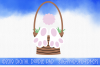 Easter Bunny Butt SVG example image 1