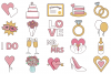 Wedding Day Clipart example image 2