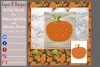 Pumpkin/ Monogram Pumpkin Frame Design File example image 3