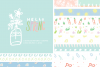 Hello Spring Seamless Patterns example image 1