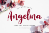 Angelina // Playful Script Font example image 1