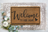 Welcome - Home - Family - Bless - Doormat Bundle SVG example image 3