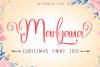 Happy Marlyana font trio example image 1