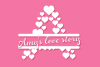 Countless Hearts | Love Craft Font example image 6