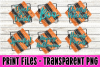 6 PNG Halloween Bundle - Print File example image 1