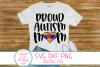 Proud Autism Mom SVG, Autism, Mom, Autism Awareness, Saying example image 1