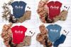 Winter Tshirt Mockup Bundle Bella Canvas 3001 3005 3501 3719 example image 2