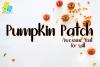 Pumpkin Patch Font example image 1