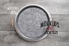 Round metal trays bundle - DOLLARAMA - MOCK-UP example image 4