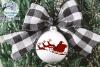 Winter Ornament SVG Bundle   Christmas Ornament SVG Cut File example image 3