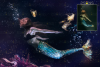 Mermaid tail, tails, overlays, Clipart, PNG, example image 3