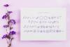 Flower Power script font example image 9