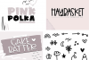 The Crafty Bundle - 14 Fun & Quirky Fonts example image 10