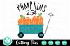 Pumpkin Wagon - A Fall SVG Cut File example image 1