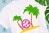 Palm Tree svg example image 1