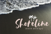 The Coast - Handwritten Script Font with Extras example image 4