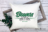 Beaver, Basketball, Sport, Team, Logo, PRINT, CUT, DESIGN example image 3