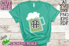 St Paddy Monograms - St Patrick's Day SVG File Bundle example image 7