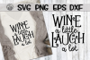 Wine With Friends - Bundle - 10 Designs - SVG PNG EPS DXF example image 8