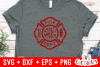 Distressed Maltese Cross | Firefighter Cut File example image 2