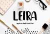 Leira Hand Drawn Brush Font example image 1