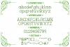 Handyman Serif Handdrawn Font example image 2