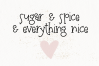 Sugar and Nutmeg - A Fun Handwritten Font example image 5