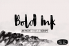Bold Ink Simple Script example image 1