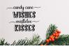 Holiday Season - a festive shadow font example image 7