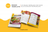 Food Lovers Recipe and Cookbook Canva Template Ebook example image 2