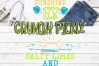 Salty Limes and Sunshine Summer Beach SVG example image 5