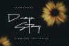 Drop Stay - Signature Font example image 1