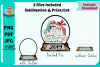 Snowglobe Sublimation Shape example image 1