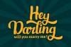 Hansley - Retro Font example image 3