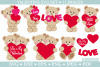 Valentine SVG cut files for crafters example image 1