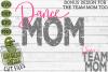 Dance Mom & Bonus Team Dancer Mom Sports SVG Cut File example image 2