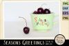 Chistmas SVG - Seasons Greetings Word Art & Vector Clipart example image 2