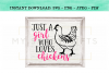 Just A Girl Who Loves Chickens SVG Design example image 3