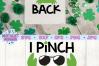 I Pinch Back SVG, St Patrick's Day SVG, Crab SVG example image 2
