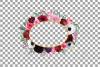 Watercolor elegant floral borders, rose, anemone frames example image 13